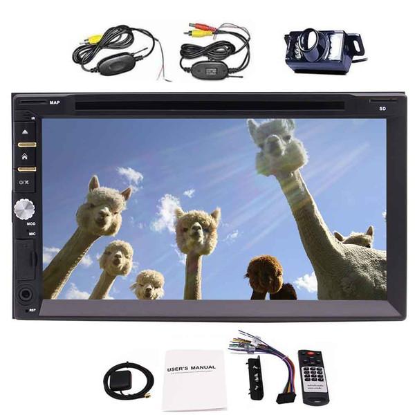 Car Electronic Auto 2din Car DVD Player GPS Navigation Radio Tuner PC Video Music Player Monitors Universal In-Dash RDS Bluetooth Autoradio