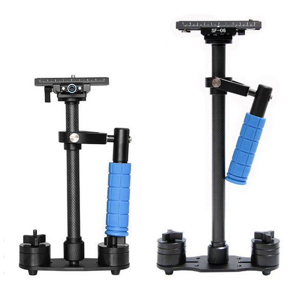 Carbon Fiber Handheld Stabilizer With Carry Bag For Dslr Camera Photography Traveling Video Estabilizador