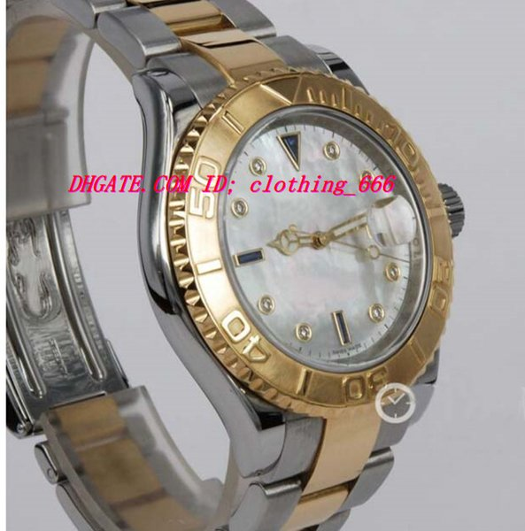 Luxury Watches Stainless Steel Bracelet 18kt Gold Mother Of Pearl Diamond 16623 40MM Mechanical Automatic MAN WATCH Wristwatch