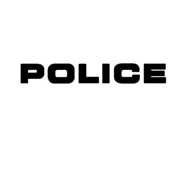 Großhandel Großhandel Vinyl Aufkleber Auto Body Styling Glas Aufkleber Kratzer Wasserdichte Wand Stoßstange Zubehör Jdm Polizei Buchstaben Schwarz 24