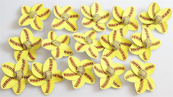 softball clip hair