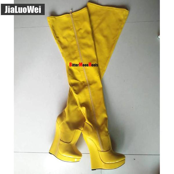 Yellow shiny