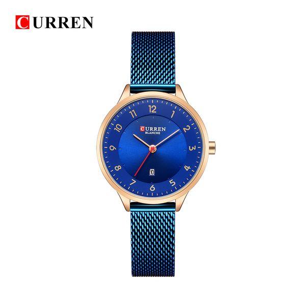 ffd7a3990fc8 9035B Fashion Curren 9035B Relojes de moda Reloj de oro de acero inoxidable  para mujer Curren