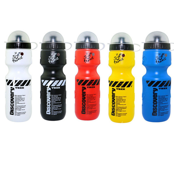 Wholesale 650ML Portable Outdoor Bike Bicycle Cycling Sport Drink Jug Water Bottle Cup Tour De France Bicycle Bottle 5 Color