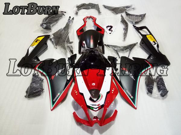 Ajuste de plástico ABS de alta calidad para Aprilia RS4 125 2012 - 2015 12 - 15 Moto Custom Made Motorcycle Fairing Kit Carrocería