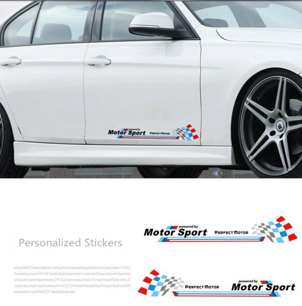 Adesivo per porta laterale riflettente per carrozzeria M performance per BMW Mini Cooper X1 X3 X5 X6 M3 M5 Adesivi personalizzati