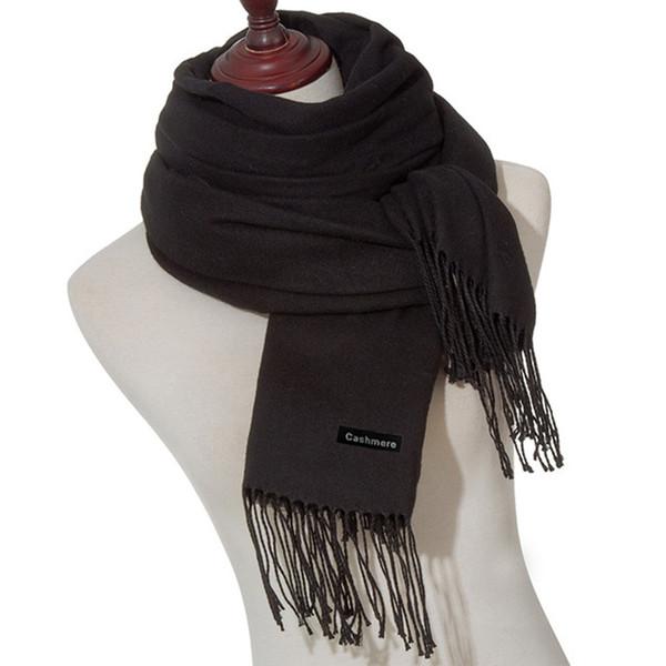 MLTBB Women Scarf Fashion Soild Autumn Winter Cashmere Scarves Lady Warmer  Long Shawl Wraps Bandana Winter Warm Shawl