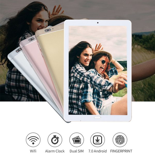 FENGXIANG 2018 10inch Tablets For Android 3G/4G 7.0 Octa Core Fingerprint Unlock Tablets Pc 1920*1280 80MP Pixel 800mAh