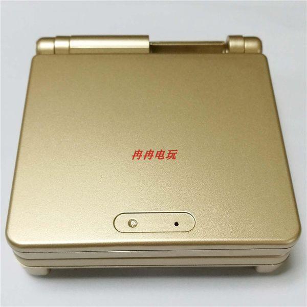 Color dorado para GBA SP para Gameboy Carcasa Reemplazo de la carcasa completa para Advance SP