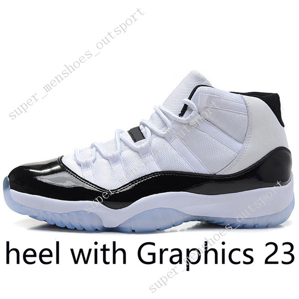 #10 High Concord (heel with Graphics 23)