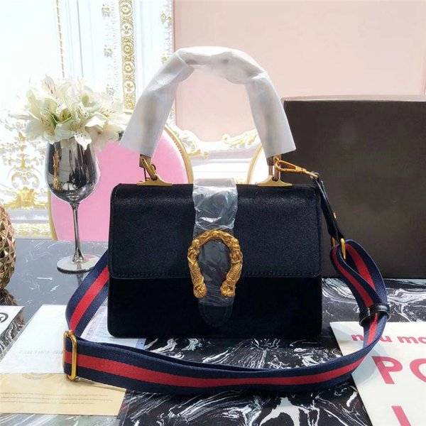good quality women designer handbags luxury famous brand bag crossbody messenger bags dust bag box 2018 winter fashion