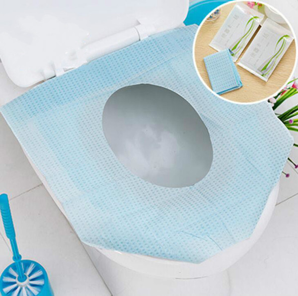 Hygienic Toilet Paper Seat Covers Disposable Flushable Protector Biodegradable Sanitary Closetool Seat Paper Wallet Purse Travel Work Train