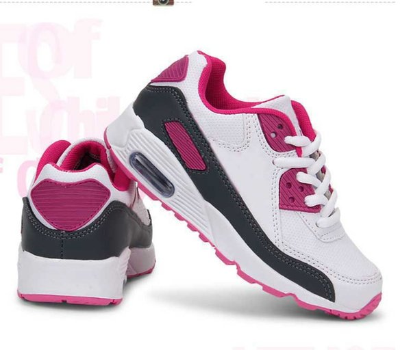 2018 Hot Selling Children Shoes brand girls and boys sneakers air cushion shoes comfortable breathable kids sports shoes