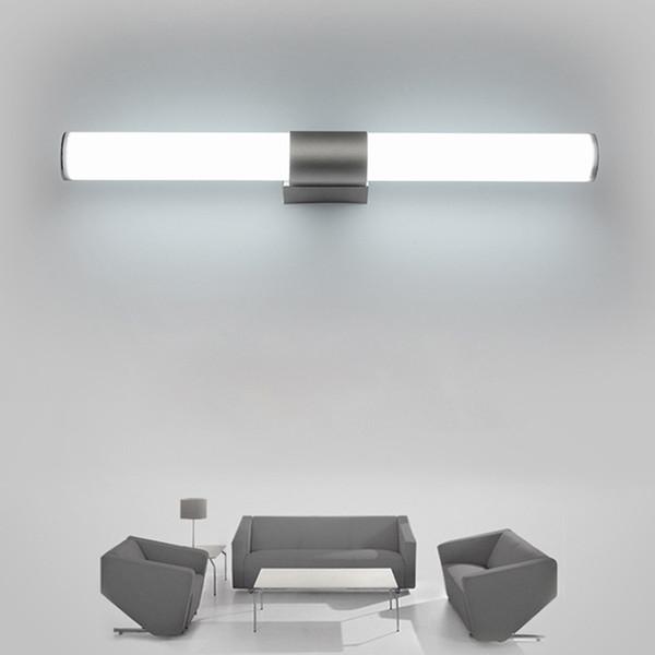 Großhandel Wandleuchten Badezimmer Led Spiegelleuchte Wasserdicht 12 Watt  16 Watt 22 Watt AC85 265V LED Rohr Moderne Wand Lampe Badezimmer  Beleuchtung ...
