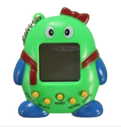 top popular Hot ! 2019 Tamagotchi Electronic Pets Toys 90S Nostalgic 168 Pets in One Virtual Cyber Pet Toy 6 Style Tamagochi Penguins toy 2019