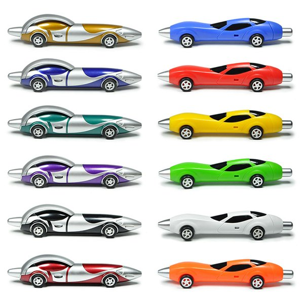 Littfun All kinds of Racing Car Pens Super Fashion Cool Toys No-repeat (Set of 12)