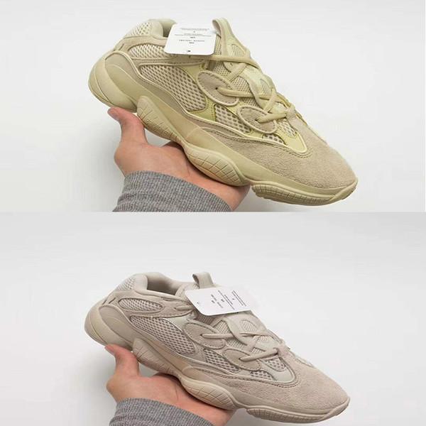 2018 Hot Sale 500 Blush Desert Rat Kanye West 700 Wave Runner 500 Sneakers Running shoes designer shoes Athletic Sneaker Outdoor boots