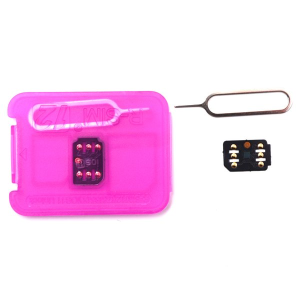 Brand New and Original Rsim 12 the latest version RSIM Unlocking Card for All iPhone IOS 11.2 AUTO-Unlocking 4G LTE US DHL