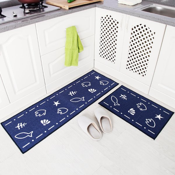 Anti-slip Home Kitchen Mat Cheaper Bathroom Carpet Entrance Balcony Garden Hotel Doormat Tapete Bedroom Area Rugs Machine Wash
