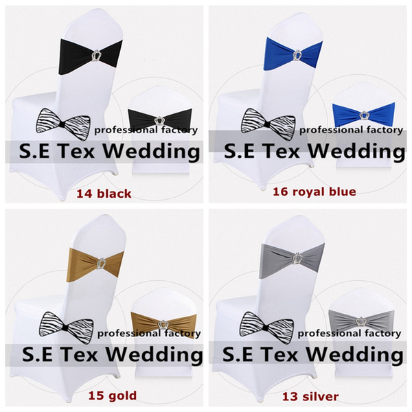 Cheap Price 50pcs White Banquet Chair Cover For Wedding And 50pcs Strech Lycra Spandex Chair Band \ Chair Sash With Buckle Free Shipping