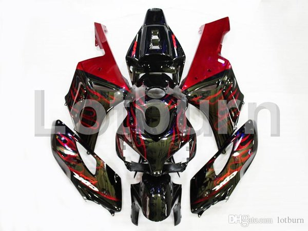 Plastic Fairing Kit Fit For Honda CBR1000RR CBR1000 CBR 1000 2004 2005 04 05 Fairings Set Custom Made Motorcycle Bodywork A195