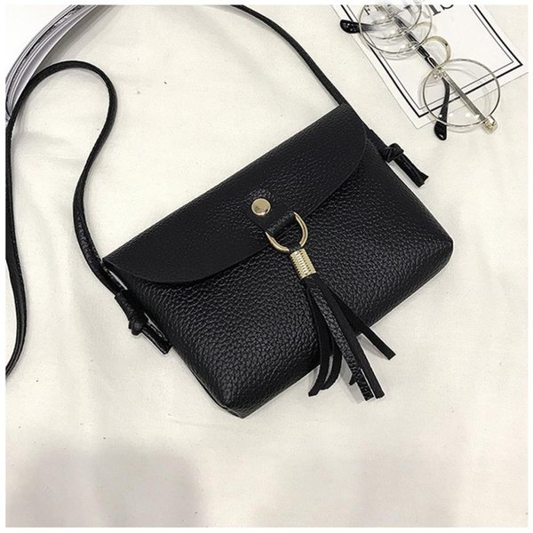 Fashion Mini backpack Bags for women's leather 2018 able genuine Crossbody Small Messenger Tassel Shoulder womens Travel Bags #F