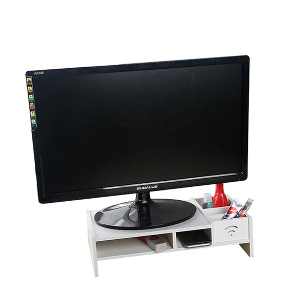 2019 White Household Decor Pc Compute Laptop Stand Wooden Desk