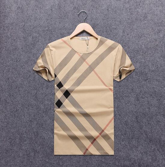2018 NEW Hot Sale T-Shirt Men Shortsleeve Stretch Cotton Jersery Tee Men's Embroidery Tiger Printed Bird Snake Crew Collar T -Shirt #2011