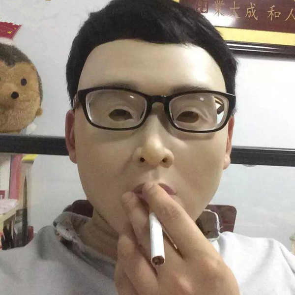 Top grade Party human mask crossdress silicone female unisex face mask halloween cosplay without hair latex face skin mask free shipping