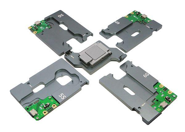 Alborado 5 en 1 herramienta de prueba EMMC hdd nand prueba ic socket disco duro ic 5G 5C 5S 6G 6 más memoria CHIP socket
