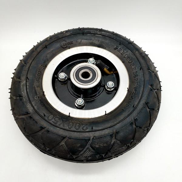 envío libre scooter eléctrico rueda inflable diámetro 195 mm 2 piezas / lote