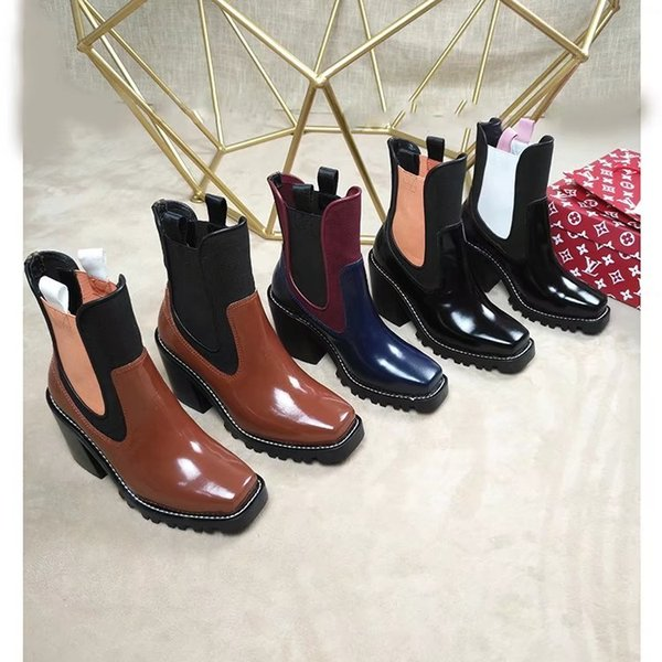 The latest explosions open beaded show boots Women Riding Rain Boot BOOTS BOOTIES SNEAKERS Dress Shoes