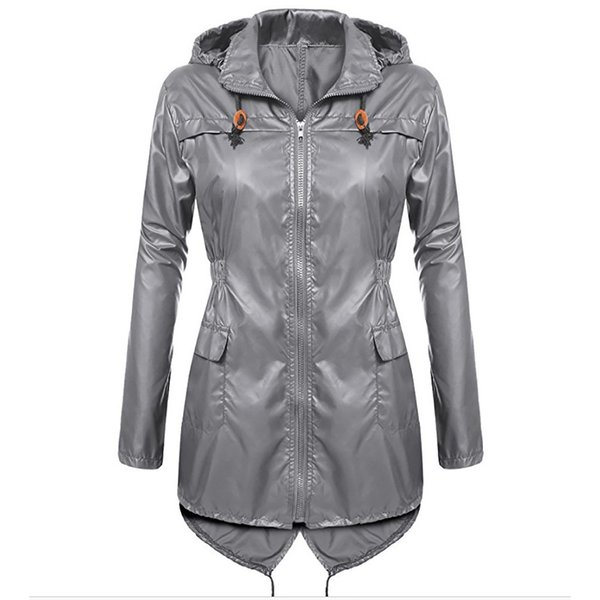 Abrigo Rompevientos Impermeable Coat Mujer Trench Para Compre wRqfzxY5n