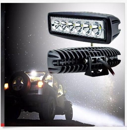 1550LM Mini 6 Inch 18W 12V CREE LED Work Light Bar Car Work light Lamp for Boating / Hunting / Fishing / Offroad CLT_401