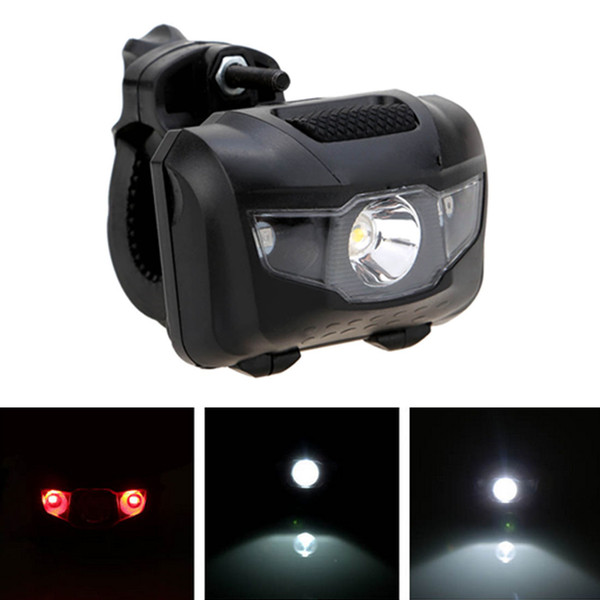 Cycling LED Bicycle Light Bike Front Rear Light ABS Head Tail Taillight Warning Lights Flashlight For Bike Cycling Accessories