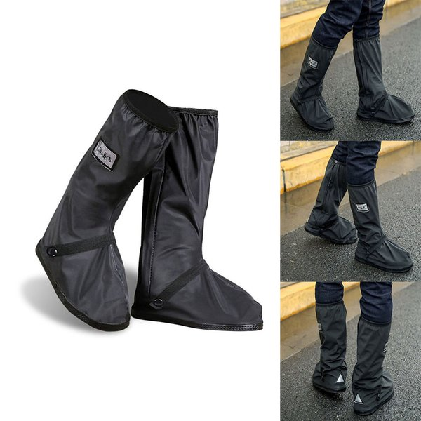 Outdoor Waterproof Shoes Covers Reusable Rain Boots Anti-Slip Cycling Overshoes ASD88