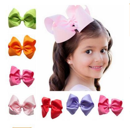Baby Girls HairClips Bowknot Birthday Gift Girls Party HairClip Accesorios 20 estilos Niños Horquilla de tela Infant HeadWear Envío gratis