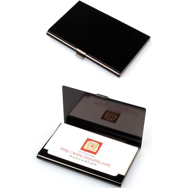 Holder Business Card Men Fashion Brand Wizytownik Porte Carte Men Wallet Male Aluminum Alloys Metal