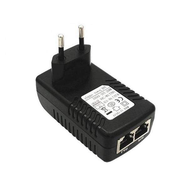 AB POE Güç Kaynağı Adaptörü 24 V 1A POE Enjektör Ethernet Adaptörü IP Bilgisayar Ağ Kameraları Yönlendirici Anahtarı Için XXM