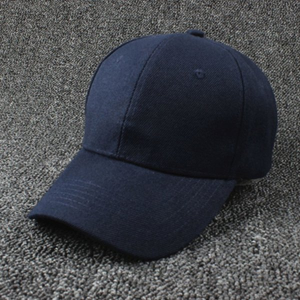 Cotton Cap Baseball Caps Hat Adjustable  Style Washed Plain Solid Visor
