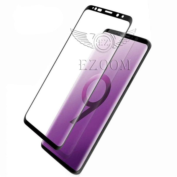 For Samsung S9 Note8 S8 Plus Tempered Glass Full Screen color Protector 3D Curved Glass For Galaxy Note 9 S7 s6 Edge