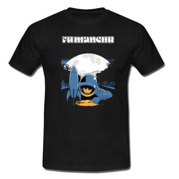 FU MANCHU Band Tshirt Cotton Tee Men's T-Shirt Black Size S to 3XL Men T Shirt 2018 Summer 100% Cotton