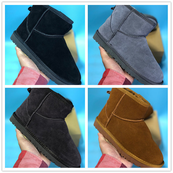 Australia Winter Snow Suede Women Boots Non-Slip Rubber designer Shoes for Top quality Walking Sneakers Size 35-39