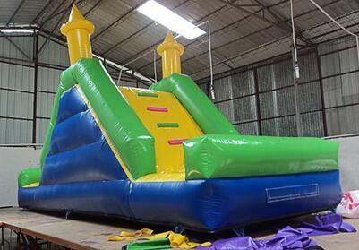2017 Kids popular inflatable slide inflatable land slide for sale