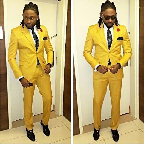 Latest Coat Pant Designs 2018 Fashion Formal Men Suit Prom Party Suits Yellow Costume Homme Wedding Slim Fit Men Suits Coat Pant