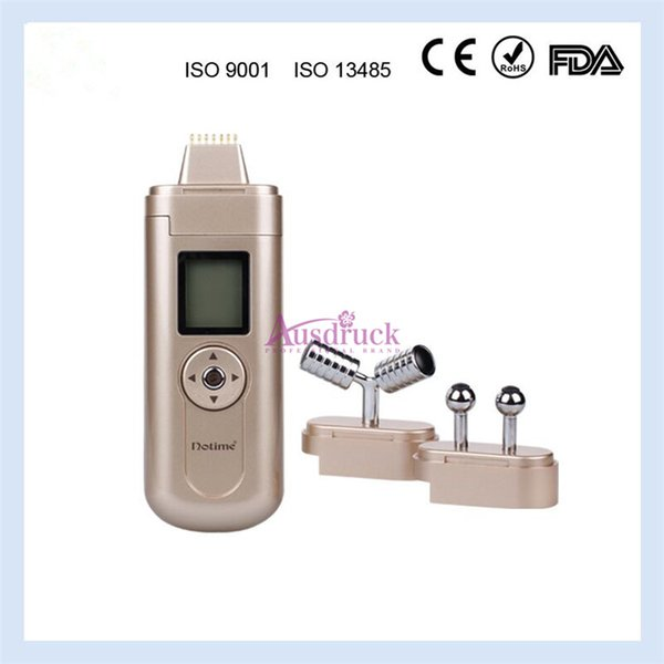 New arrival 3 treatment heads Portable Microcurrent bio Galvanic EMS Wrinkles Remover face lifting Lymph drainage home use beauty machine