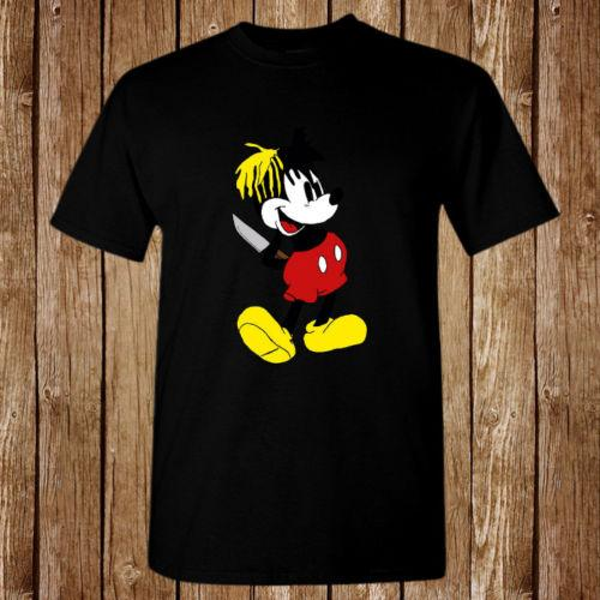 Xxxtentacion Micky Dagger Mouse tamaño S - 5xl camiseta