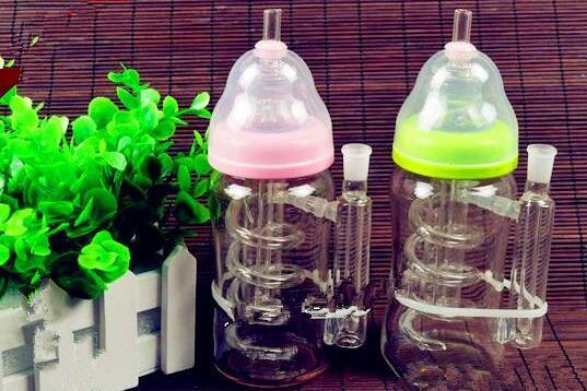 Modifiye nargile şişe Toptan Cam Nargile, Cam Su Boru Bağlantı Parçaları, Ücretsiz Kargo