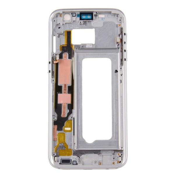 20Pcs Checked For Samsung Galaxy S7 G930 G930F G930P G930U/A/V/T/I/K//S/W/R/FD Middle frame Rear Housing Midframe Bezel Chassis Plate