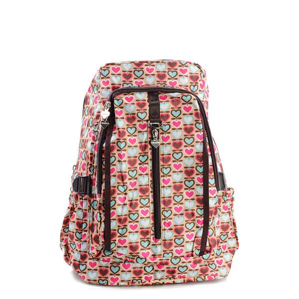 Cute backpack schoolbag student casual floral print shoulder bag flower print nylon female backpack schoolbag for teenage girls